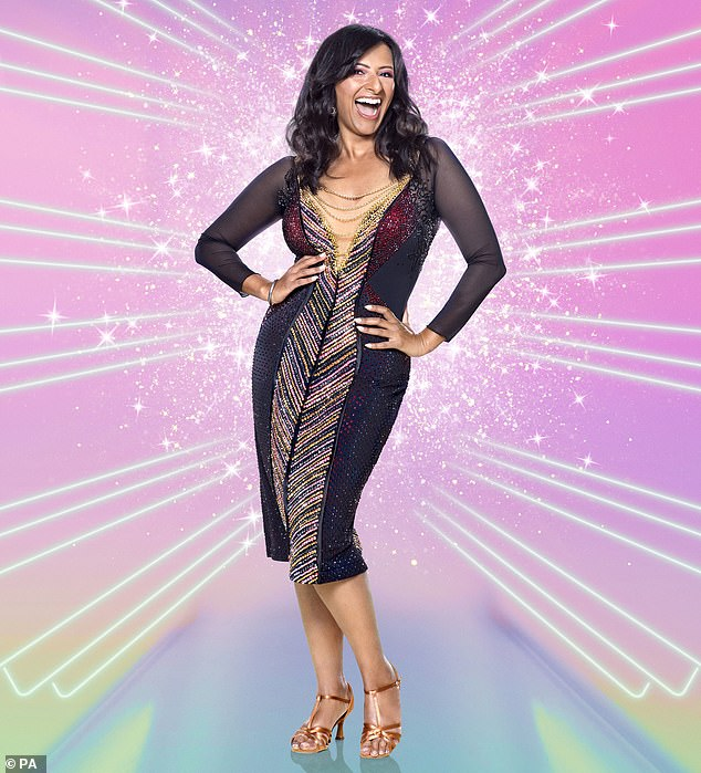 I need spandex, laughs Strictly's Ranvir Singh after putting on a stone