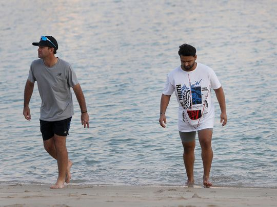 IPL 2020 in UAE: Delhi Capitals relax in Dubai on day off