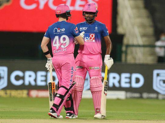 IPL 2020 in UAE: Despite Gayle heoics, Rajasthan dent Kings XI Punjab's hopes in Abu Dhabi – in pictures