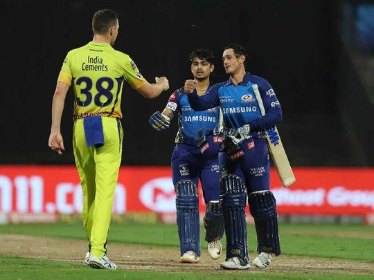 IPL 2020 in UAE: Mumbai Indians destroy Dhoni's sorry Chennai Super Kings – in photos