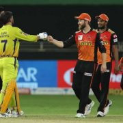 IPL 2020 in UAE: Sunrisers Hyderabad beat Chennai Super Kings by 7 runs – in pictures