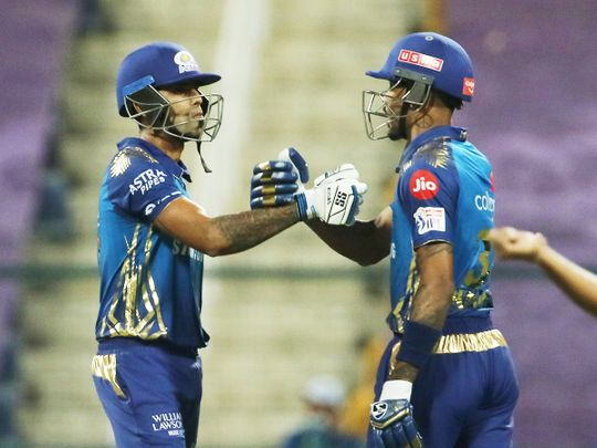 IPL 2020 in UAE: Yadav shines as Mumbai Indians thump Kohli's Royal Challengers Bangalore – in pictures