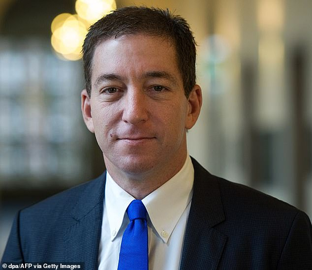 Glenn Greenwald (pictured) resigned from The Intercept, which he co-founded, on Thursday after he claims editors censored an article he wrote that was critical of Joe Biden