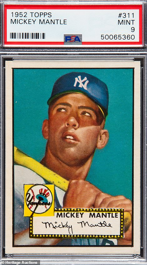 JP Morgan, Goldman Sachs … Mickey Mantle? Sports trading card prices soar during pandemic
