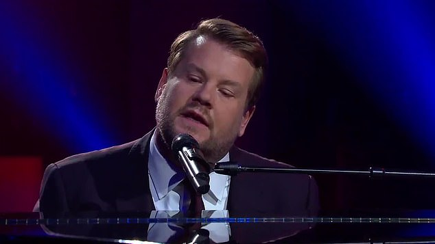 James Corden ridicules Donald Trump with parody of Paul McCartney song