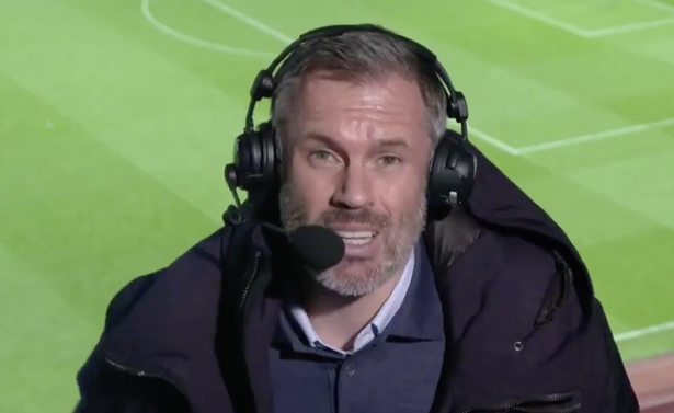 Jamie Carragher has explained his biggest problem with Liverpool's high defensive line