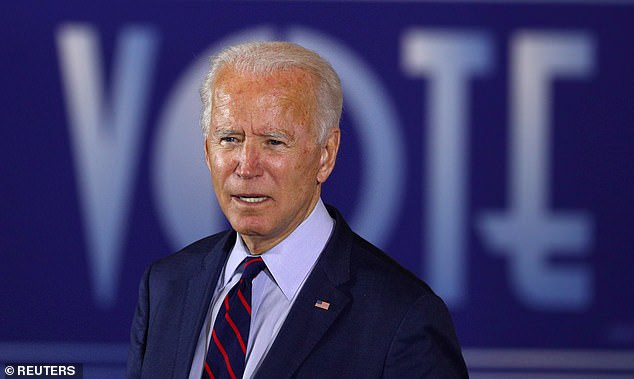 Joe Biden finally admits he is 'not a fan of court packing' after repeatedly ducking the question