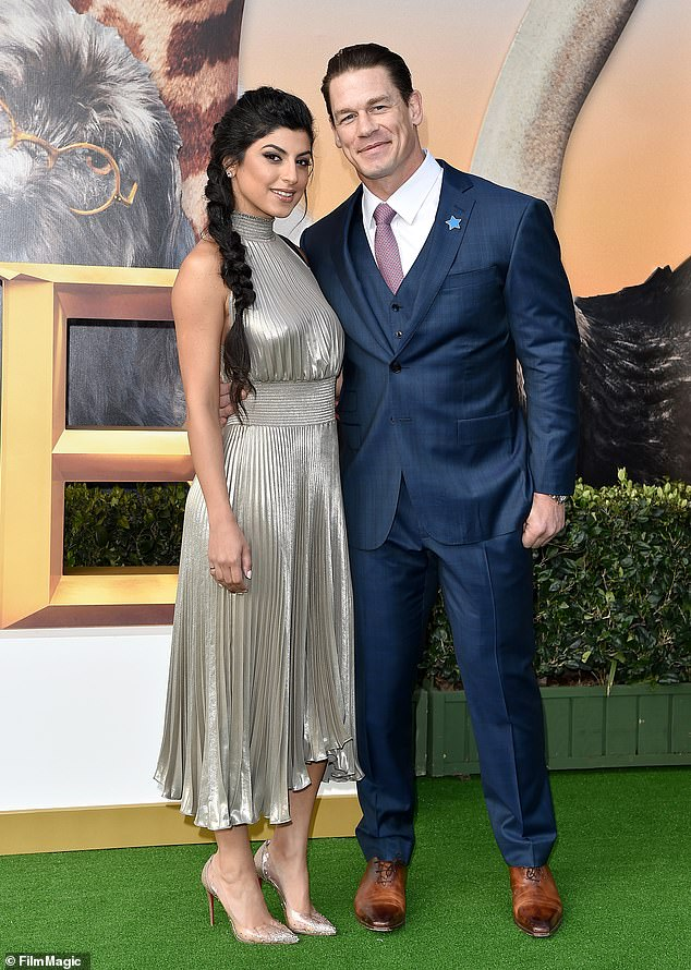John Cena MARRIESShay Shariatzadeh in a PRIVATE ceremony in Tampa this week