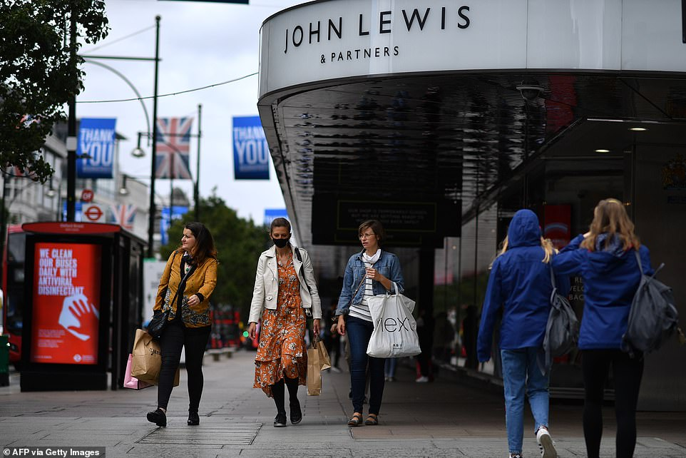 John Lewis to turn HALF flagship Oxford Street store into OFFICES