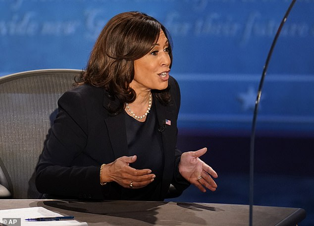 Kamala Harris laces into Trump over taxes saying 'I thought it said he paid $750,000 – it was $750'