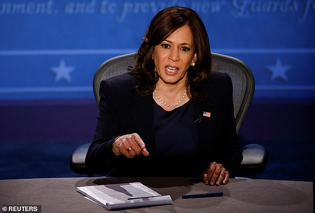 Kamala Harris says Trump administration has packed courts with white judges