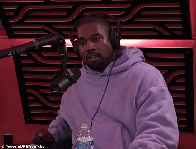 Kanye West explains his 'calling to be the leader of the free world' on Joe Rogan podcast