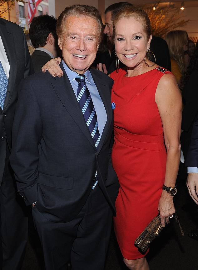 Kathie Lee Gifford claims that Regis Philbin suffered from depression in the months before his death
