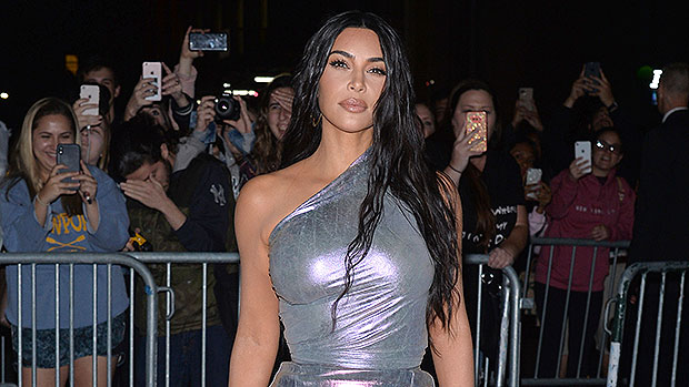 Kim Kardashian Jumps Out Of A Cake In Bikini Top Before Her 40th Birthday — See Pics