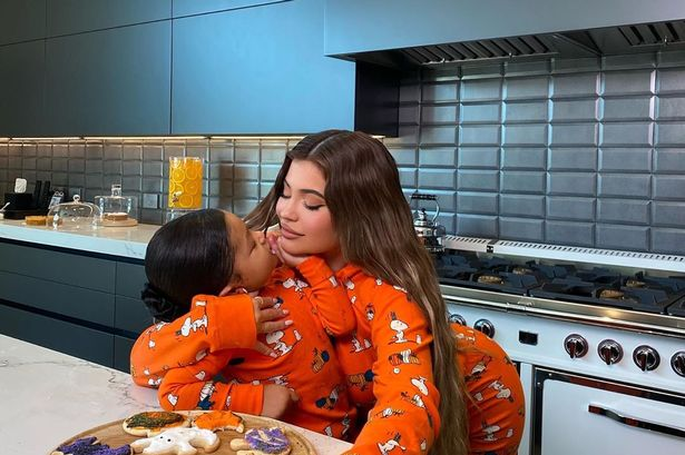 Kylie Jenner fans 'can't handle' daughter Stormi in precious baking video