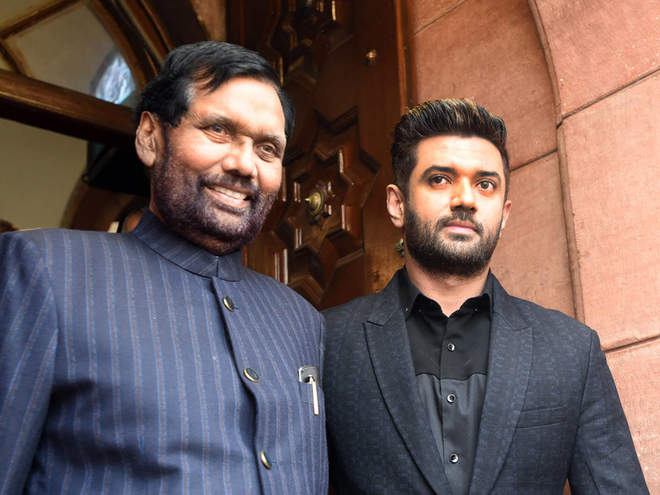 LJP to contest Bihar elections outside the NDA