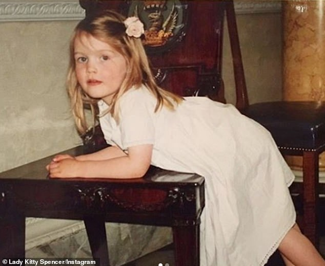 Lady Kitty Spencer, 29, shares a sweet throwback to her brother's christening in 1994