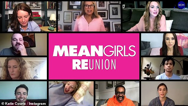 Lindsay Lohan joins Tina Fey and Amanda Seyfried in surprise virtual reunion for Mean Girls Day