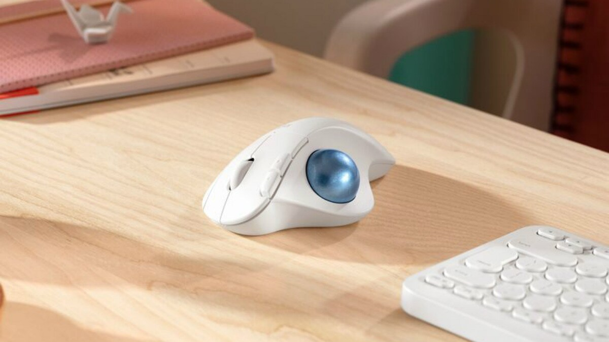 Logitech Ergo M575 Wireless Trackball Mouse Launched