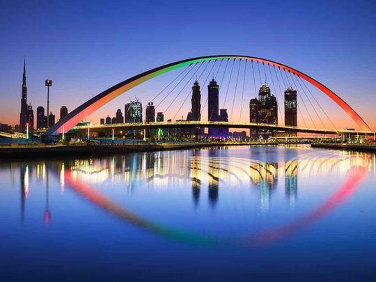 Look: UAE's pedestrian bridges with unique designs