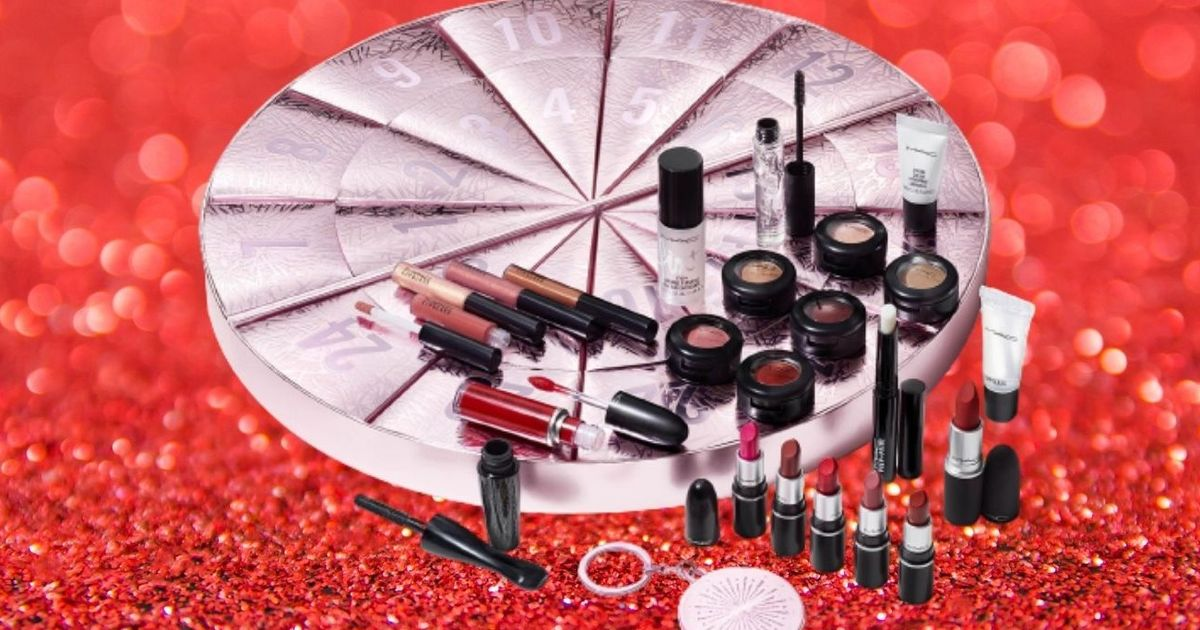 MAC's 2020 advent calendar contains £300 worth of products – but it costs £125