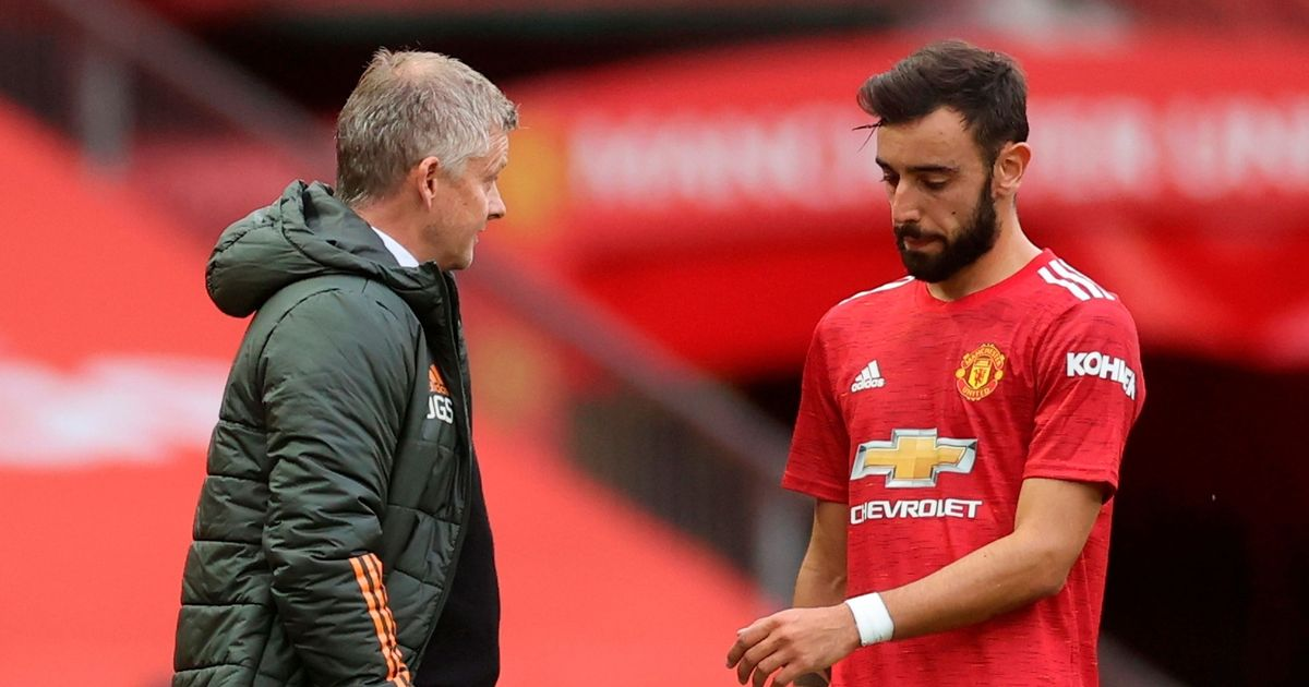"Man Utd insiders detail Bruno Fernandes' ""rage"" at Solskjaer's tactics"