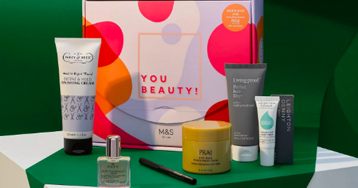 Marks & Spencer selling incredible £122 beauty bundle for £20