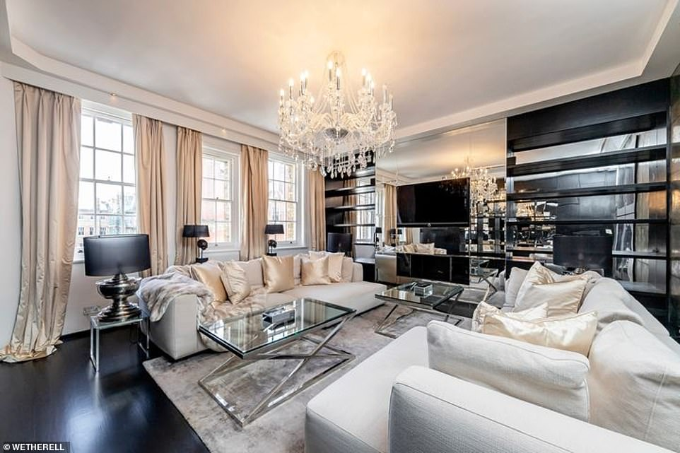 Mayfair penthouse where P.G. Wodehouse penned his famous tales goes on sale for £6.95million