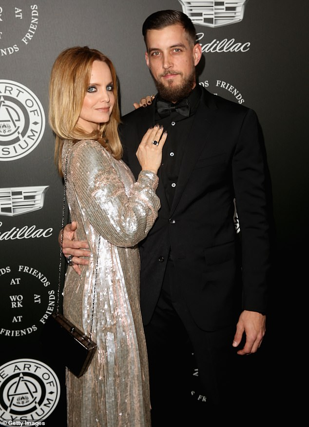 Mena Suvari is pregnant! The American Beauty actress, 41, is expecting her first child