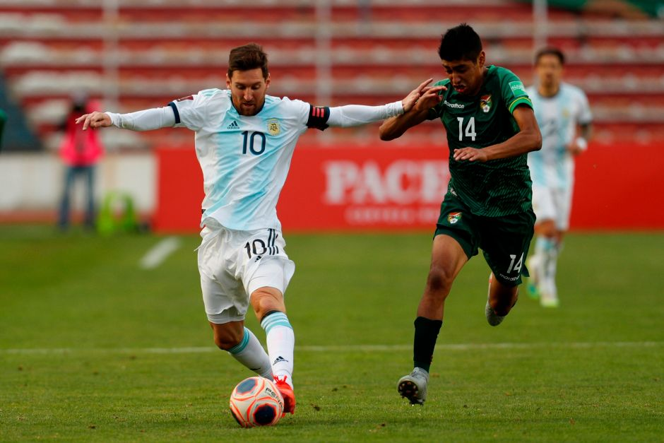 Messi's fury: Argentina took victory in Bolivia despite the height | The NY Journal