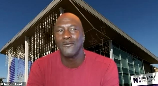 Michael Jordan opens second health clinic for uninsured people in his hometown of Charlotte