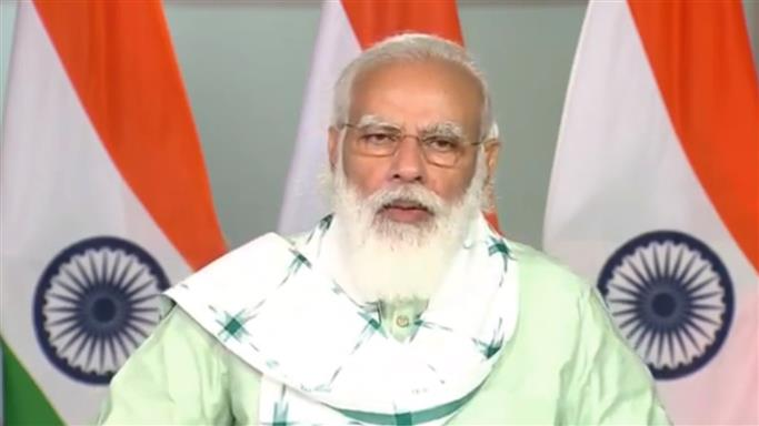 Modi inaugurates farmers' welfare, health care, tourism development projects in Gujarat