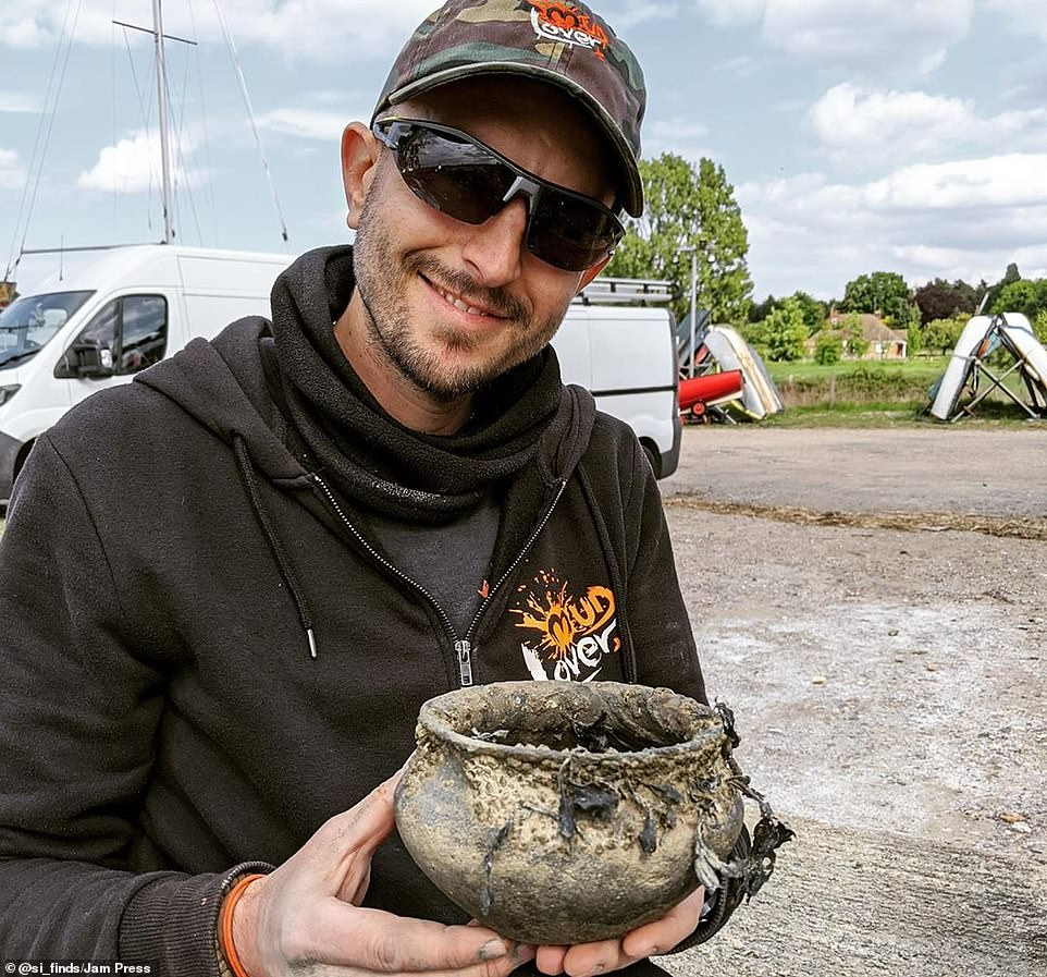 Mudlarker reveals extraordinary items he has unearthed from shoreline of the River Thames