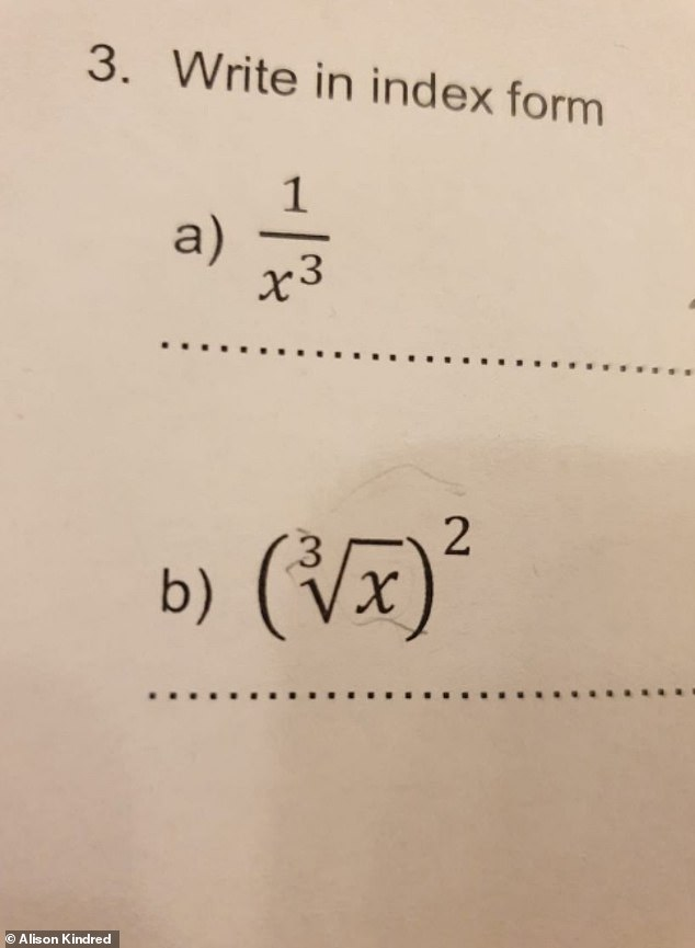 Mum left baffled by daughter's maths homework – so, do YOU know the answer?