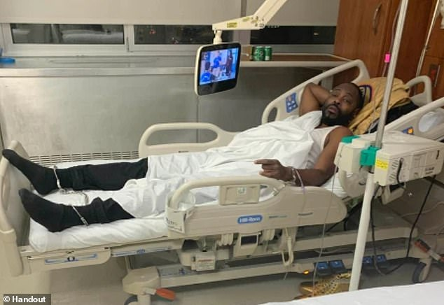 NYC man Frank Brandon arrested shackled to hospital bed four days after suffering a stroke sues