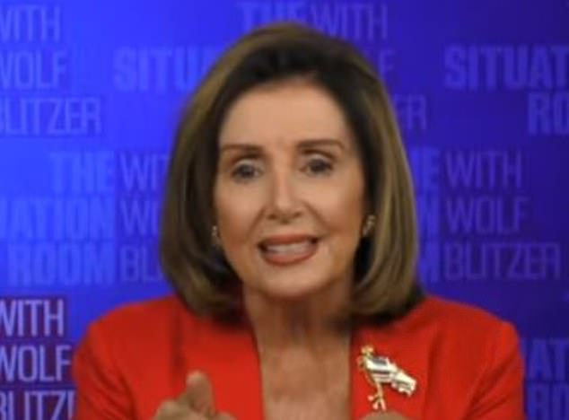 Nancy Pelosi goes into meltdown and calls CNN's Wolf Blitzer a 'Republican apologist'