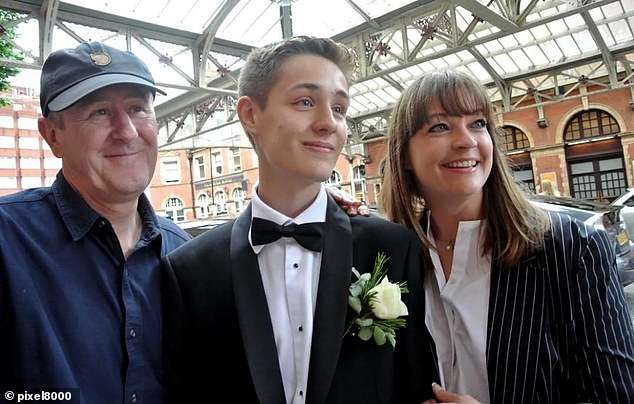 Nicholas Lyndhurst's heartbreak at the death of his only son Archie, writes ALISON BOSHOFF