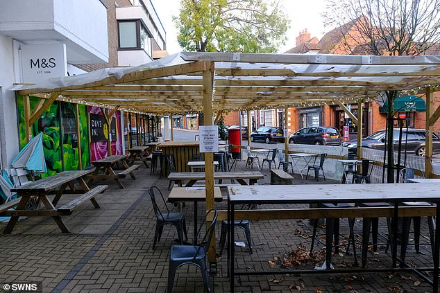 One of Britain top restaurants ordered to tear down pergola after complaint it 'looks like a Jewson'