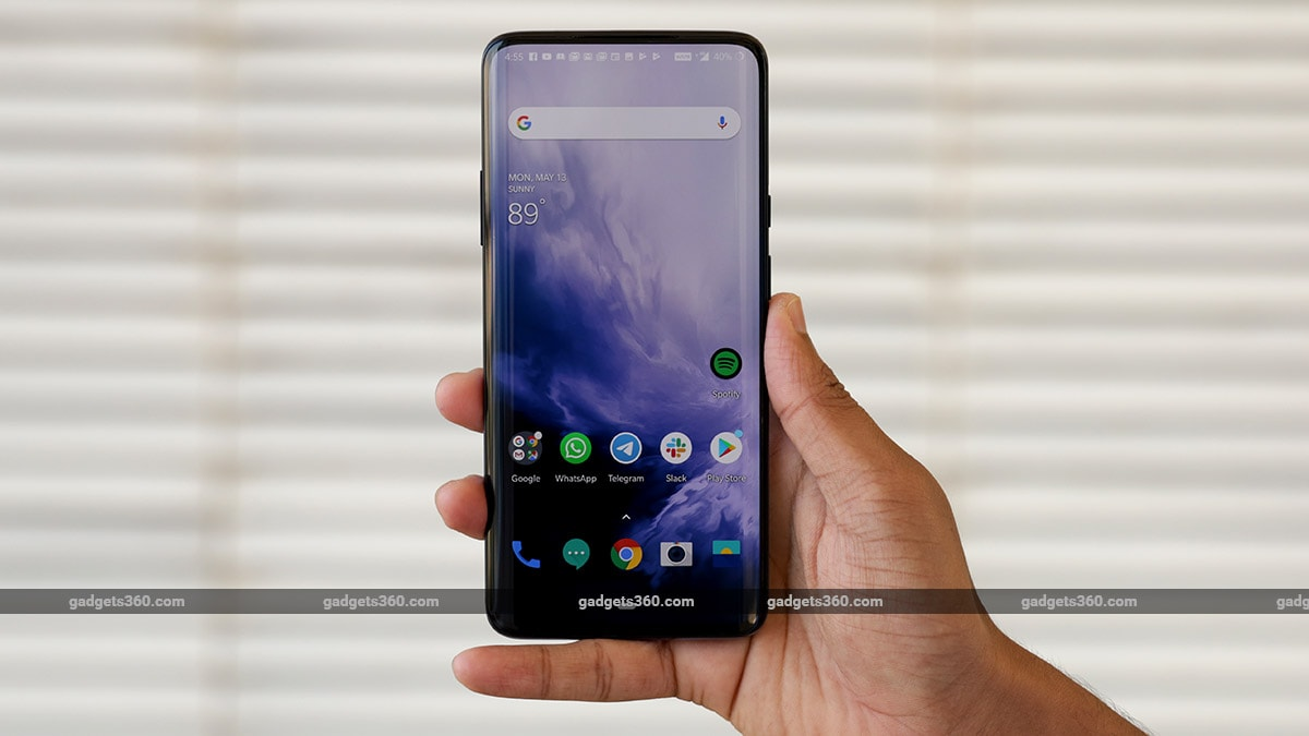 OnePlus 7 Series, OnePlus 7T Get Second Update in October With Minor Fixes
