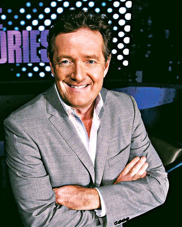 PIERS MORGAN says the celebrity world is full of stinking hypocrisy