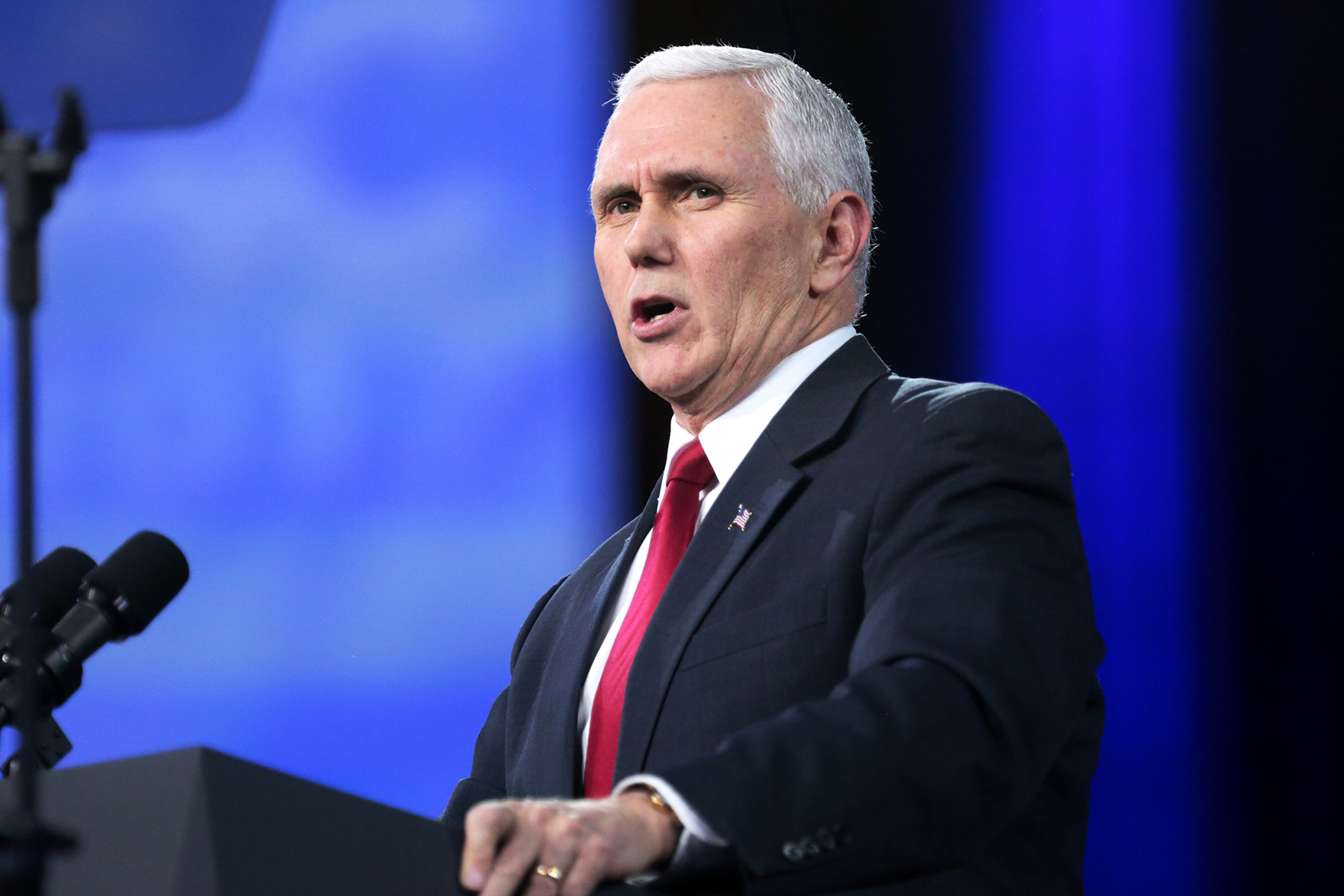 Pence's Red Eye Raises COVID Concerns