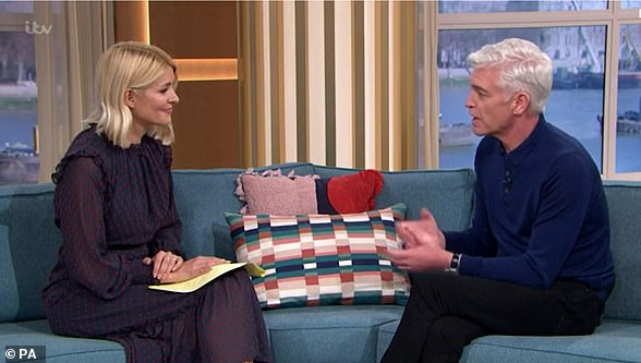 Phillip Schofield reveals Holly Willoughby's support when he came out as gay was 'absolutely vital'