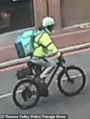 Police hunt Deliveroo rider who 'left two-year-old girl in hospital with head injury