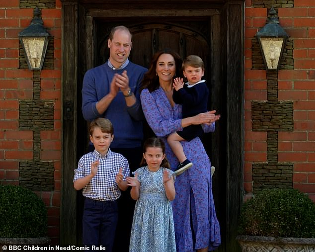 Prince William and Kate Middleton bake cakes for care home residents