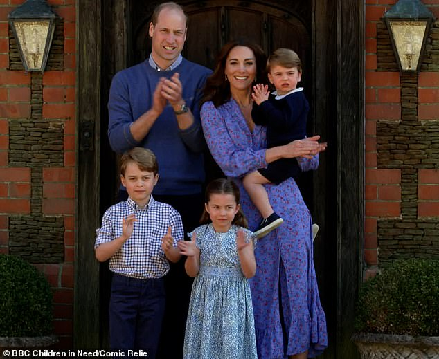 Prince William and Kate Middleton take children to Scilly Isles