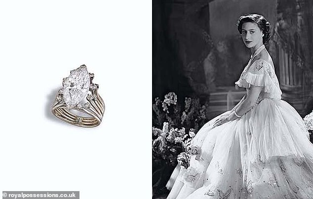 Princess Margaret's heirlooms that were sold for £14million by her son are up for sale again