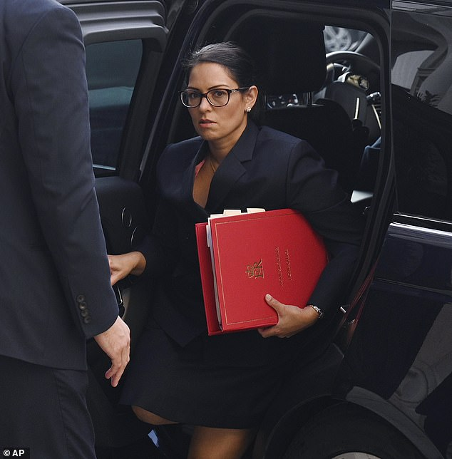 Priti Patel shrugs off attack by lawyers and brands their reaction to her criticisms 'ridiculous'