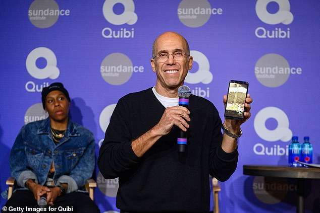 Quibi founder Jeffrey Katzenberg told staff to listen to song from Trolls as he announced shutdown