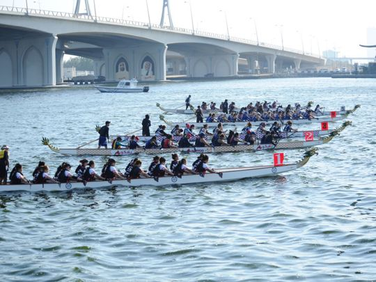 Registration open for Dubai Festival City's Dragon Boat Challenge