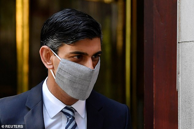 Rishi Sunak 'putting together new furlough-style bailout' for local lockdowns